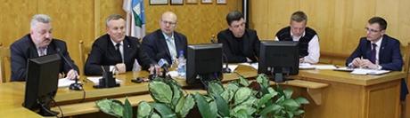 Заседание городского исполнительного комитета